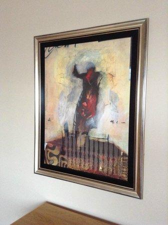 Curran Court Hotel: Lovely artwork