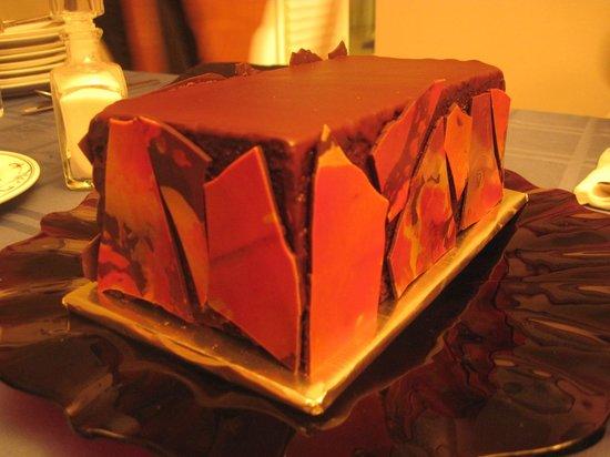 Dark Chocolate Terrine by Parker-Lusseau Pastries
