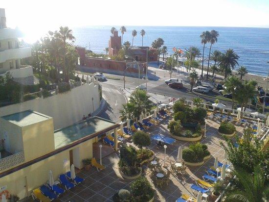 Las Arenas Hotel: Vista mañanera desde la habitación