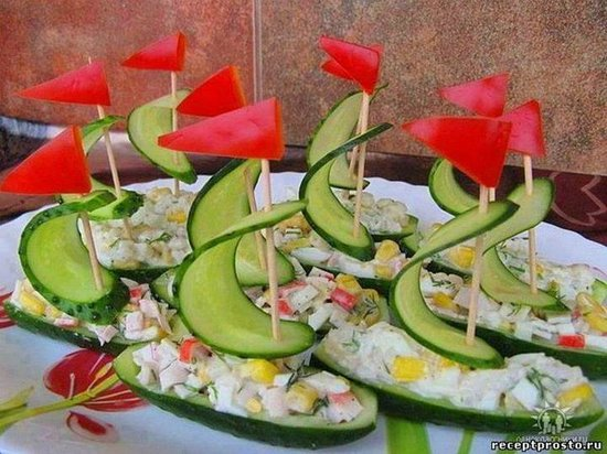 рецепты с фото день рождения детский закуски