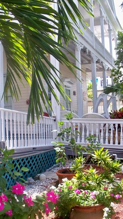 The Palms Hotel- Key West: another view of the grounds