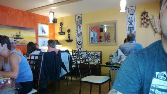 Karoo Kafe: Indoor seating