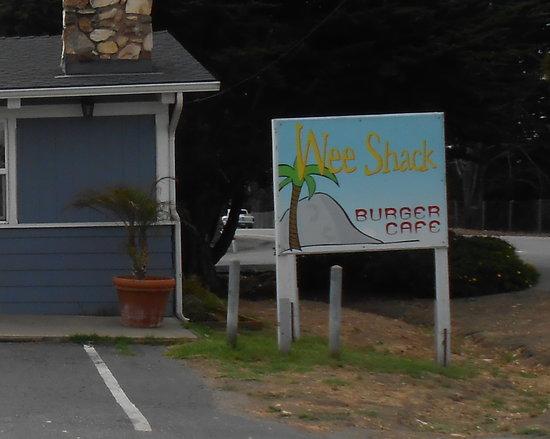 Wee Shack Sign Picture Of Wee Shack Morro Bay Tripadvisor