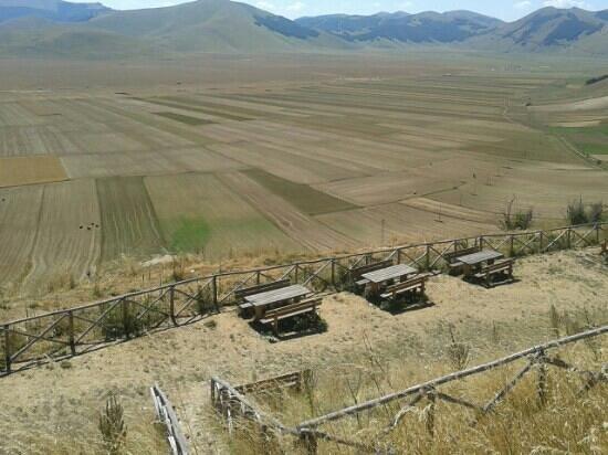 Agriturismo Il Margine : picnic Castelluccio