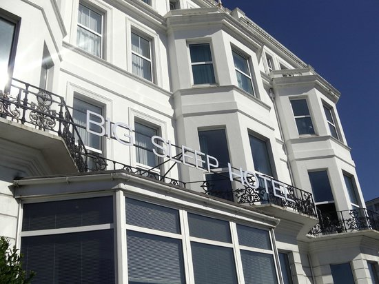 The Big Sleep Hotel Eastbourne by Compass Hospitality: Front of hotel