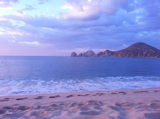 Pueblo Bonito Los Cabos: sunrise outside of Room 102