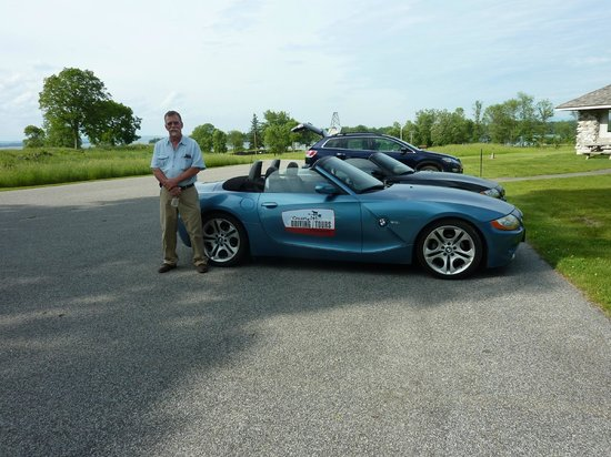 """Country Driving Tours of Vermont: Showing off """"our"""" car"""