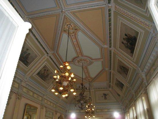 techos del salón de los espejos - picture of gran hotel las caldas