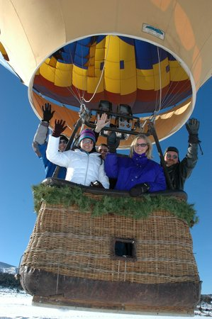 Camelot Balloons: Ballooning in the Winter