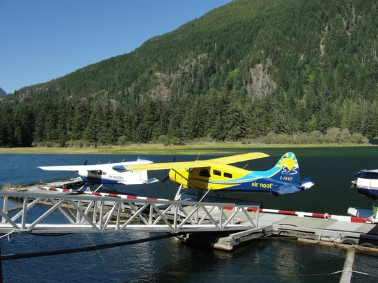 Get West Day Adventure Cruises: Float planes in Gold river