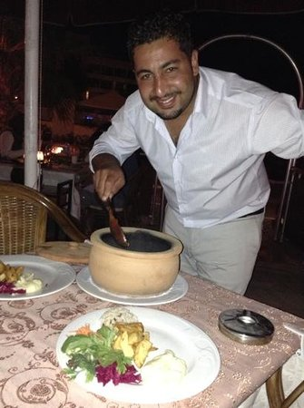Melita Apart Hotel : casserole at the melita resturant