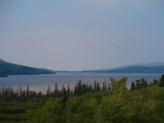 Johnson's of St. Mary: St Mary Lake, view from campground
