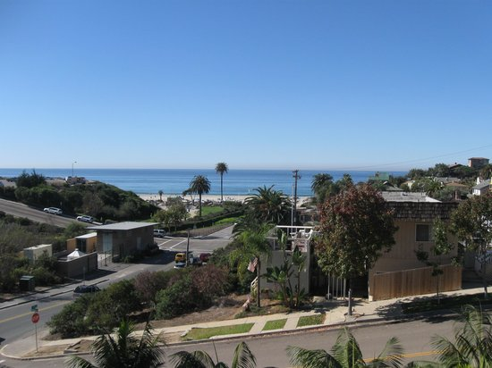 Moonlight Beach Motel : View from my room
