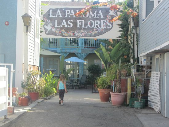 La Paloma Cottages Las Flores: hotel entrance