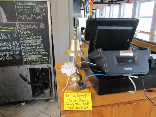 The Inn at the Wharf Restaurant: Bell To Ring For The Chef