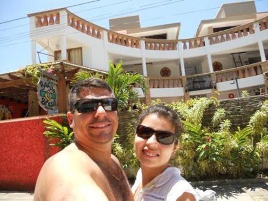 Pousada Bahia Bella: Vista da frente