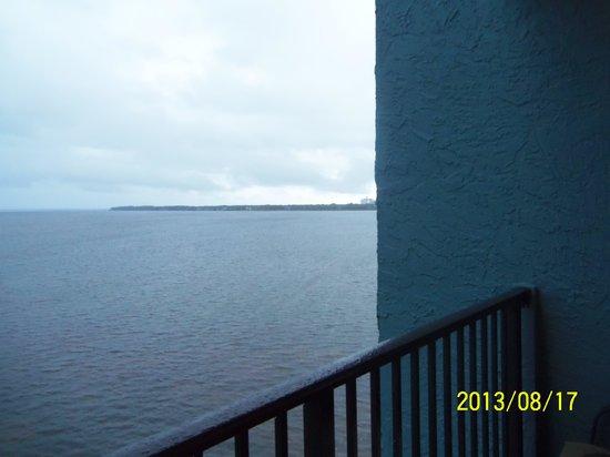 Bayside at Sandestin: Balcony is narrow
