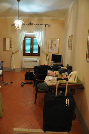 Relais Villa Belpoggio: Living room (Junior Suite)