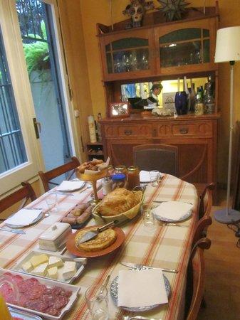 BarcelonaBB : Breakfast area