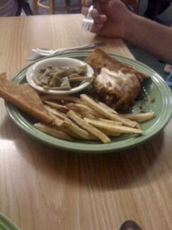 Whitewater Grill: fried chicken