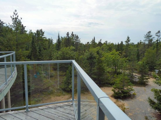 Misery Bay Provincial Park: A viwe from the Visitor's Centre