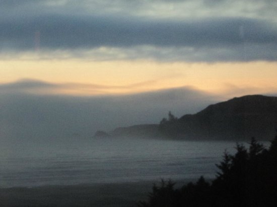 BEST WESTERN Agate Beach Inn : View forn the 5th floor