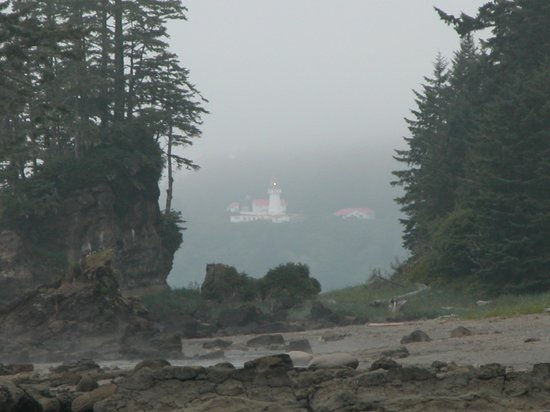 West Coast Trail: Carmanah Point Lighthouse