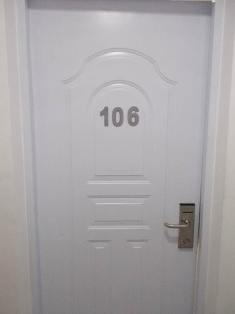 Hostal San Francisco De Asis: Problem lock door