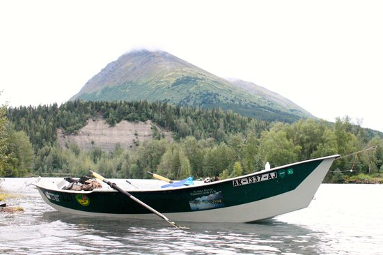 Alaska Kenai Fishing for Fun照片