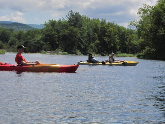 Campton, Nueva Hampshire: Paddle the Pemi