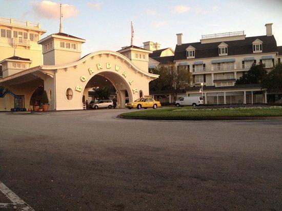 Disney's BoardWalk Villas: Entrance