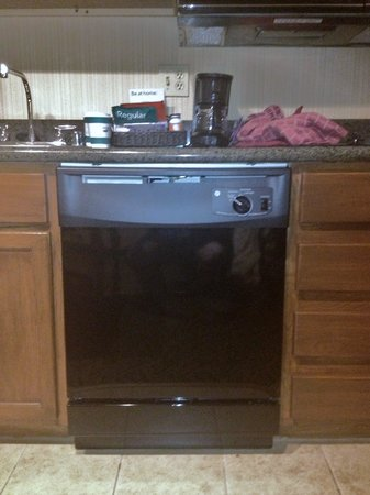 Homewood Suites Seattle - Tacoma Airport / Tukwila : dishwasher