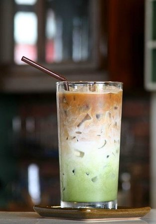 Old Town Cafe Bangkok Muddy Coffee Signature Drink
