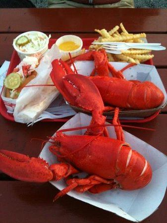 The Lobster Shop: our 54$ meal!!