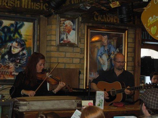 Traditional Irish Musical Pub Crawl : The HaPenny Inn, Dublin June 2013