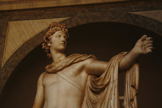 Vatican: Statue of apollo