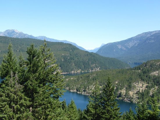 North Cascades Highway: Ross Lake