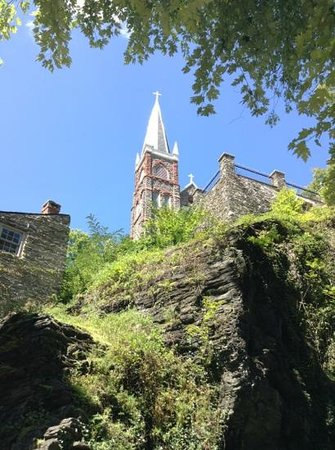 Harpers Ferry National Historical Park: a view from lower part of the park