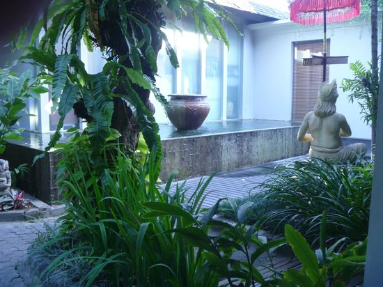 Ramayana Resort & Spa: Outside my room