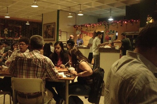 Pizzeria Da Enzo : Ambiente del lugar