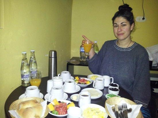 Rumi Wasi: Desayuno!