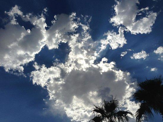 Residence Inn Tucson Williams Centre: Arizona skies.