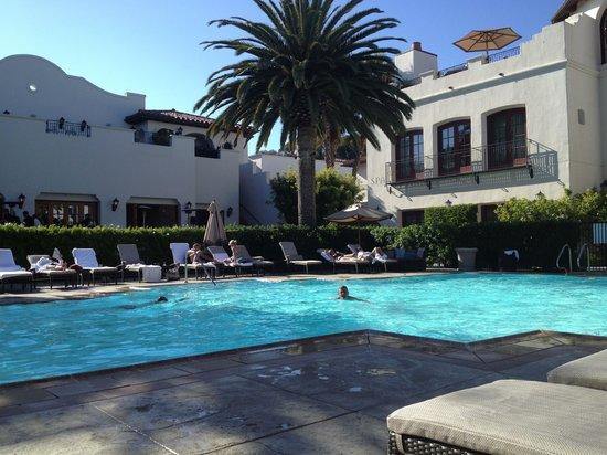 Bacara Resort & Spa: Spa Pool- relaxing.....