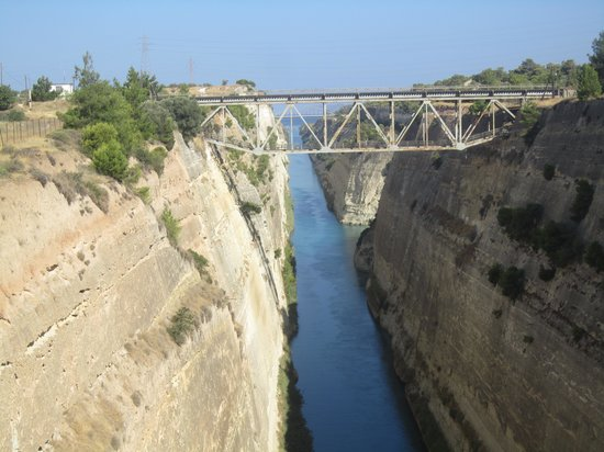 Corinth canal Picture of Athens Tours Greece Athens TripAdvisor