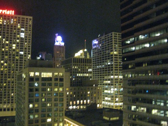 View From Room Picture Of Hilton Garden Inn Chicago Downtown Magnificent Mile Chicago