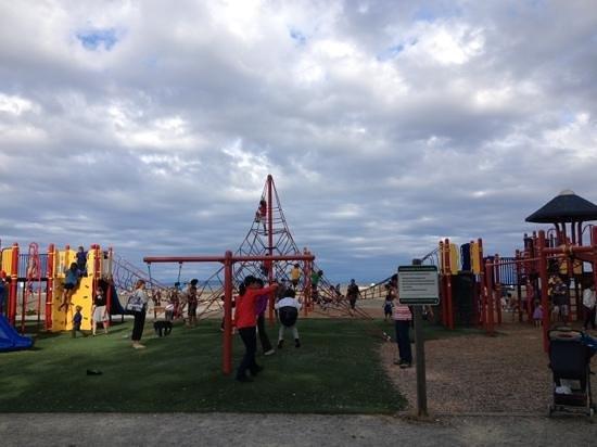 centennial beach playground