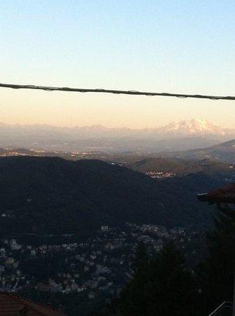 Relais Villa Augusta: Il panorama fantastico alle 7 di mattina