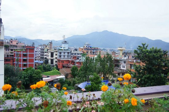 Hotel Thamel: Roof Top View
