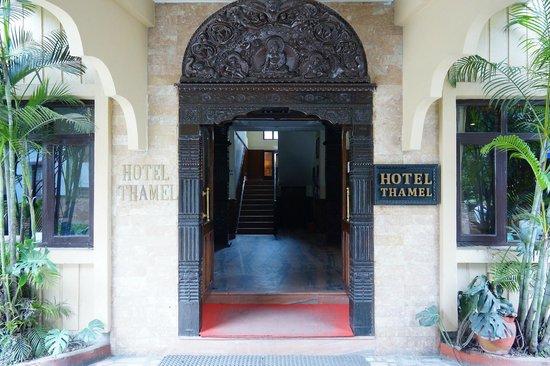 Hotel Thamel: Hotel Lobby Entrance