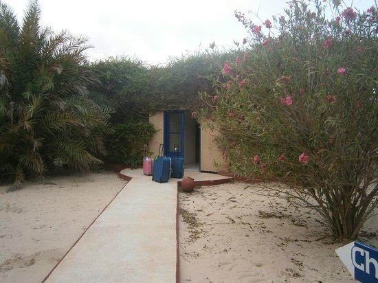 Hotel Mermoz on the beach: Arrivo al Mermoz